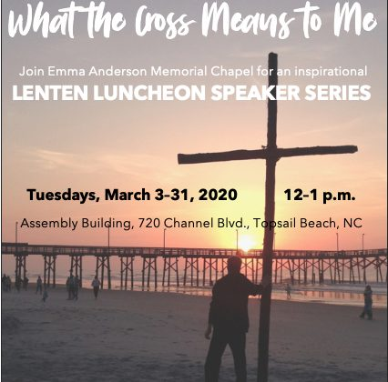 2020 Lenten Luncheon Speaker Series